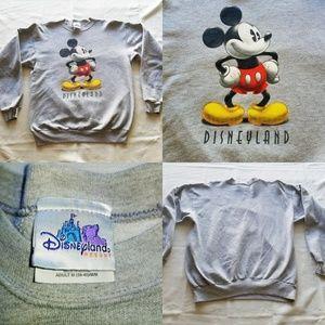 Disneyland Resort Mickey Adult Unisex Sweater Crew